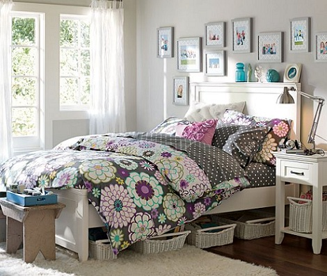 Habitaci n chica for Older girls bedroom designs