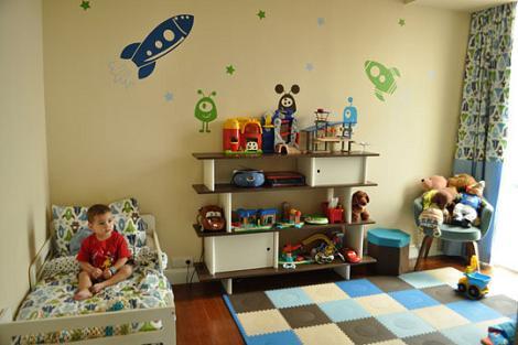 Habitación niño espacio