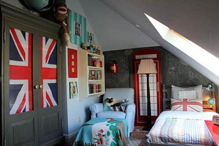 Habitaciones infantiles peque as for Mesillas estrechas ikea