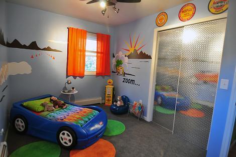 Habitación original para niño