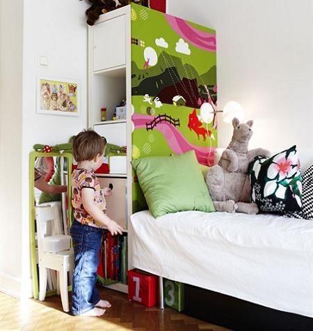 Habitación pequeña infantil