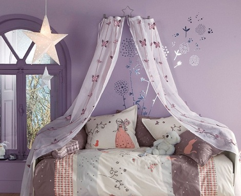 habitacion princesa lila