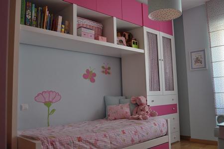 Habitaciones infantiles peque as - Aprovechar espacio habitacion pequena ...