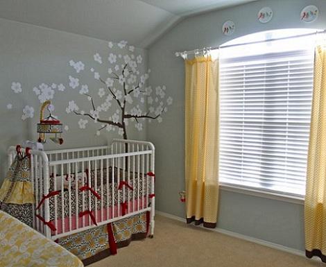 Habitaciones de beb for Habitacion bebe moderna