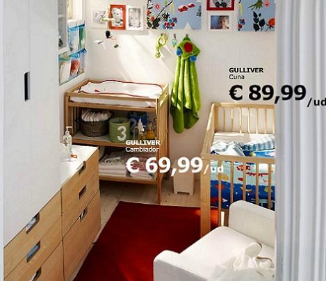 3 habitaciones de beb de ikea - Dormitorios de bebe ikea ...