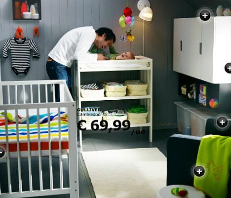 3 habitaciones de beb de ikea - Habitaciones en ikea ...