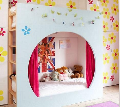 habitaciones infantiles practicas literas