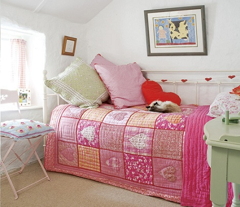habitaciones ninas patchwork