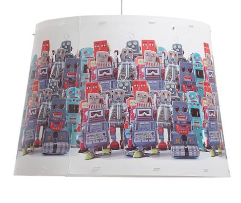 Pantalla lámpara de robots