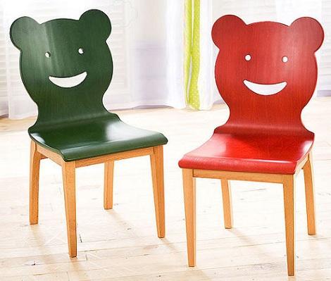sillas para ninos divertidas caras