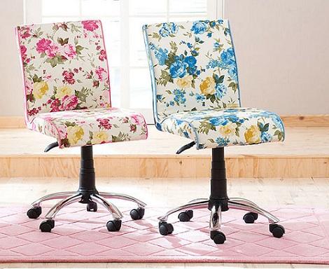 sillas para ninos divertidas flores