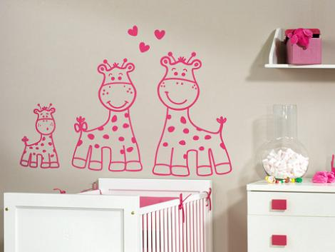 Vinilo infantil rosa