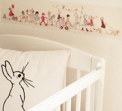 Vinilos para la habitaci n del beb for Pegatinas para habitacion de bebe