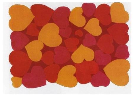 alfombras juveniles originales corazones