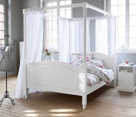 cama dosel estructura
