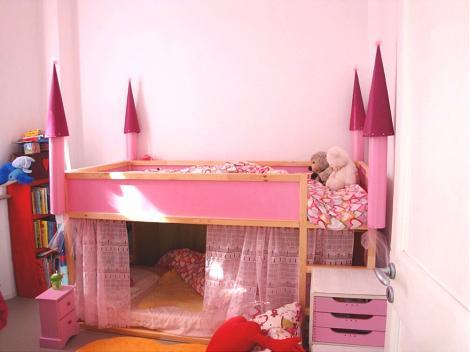Cama de princesa para ni a - Dosel cama nina ...
