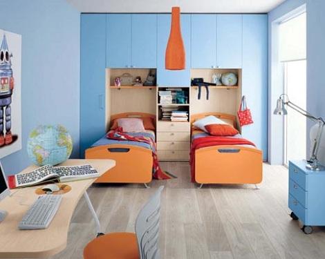 Habitaciones de dos camas - Habitaciones pequenas ninos ...