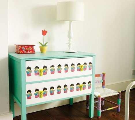 decoracion infantil habitacions mesa