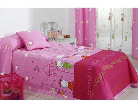 edredones reig marti rosa princesas