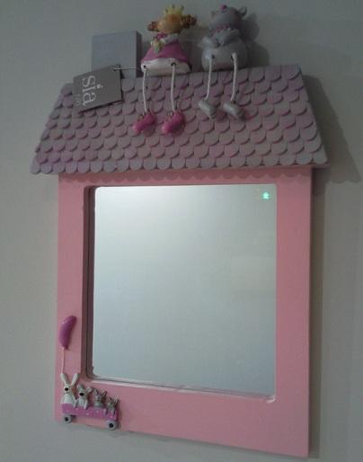 espejos ninos casita