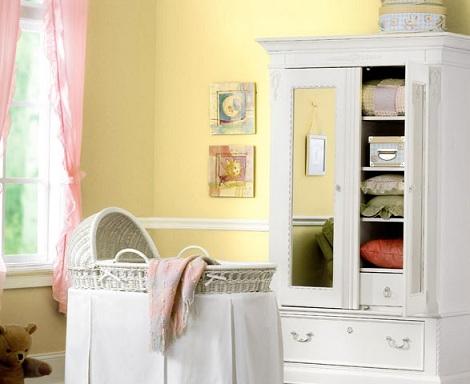 fotos habitacion bebe amarillo