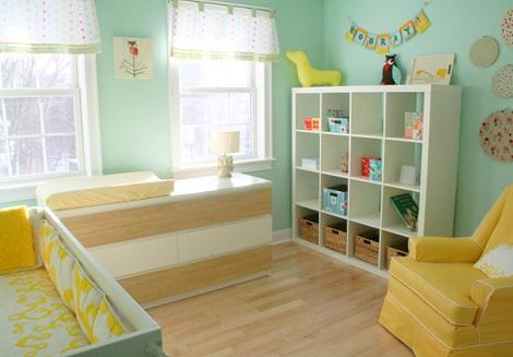 fotos inspiracion habitacion bebe amarillo