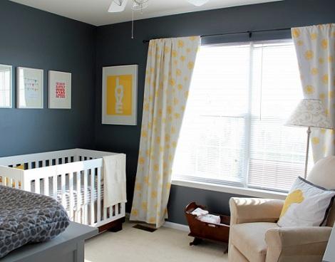 fotos inspiracion habitacion bebe gris