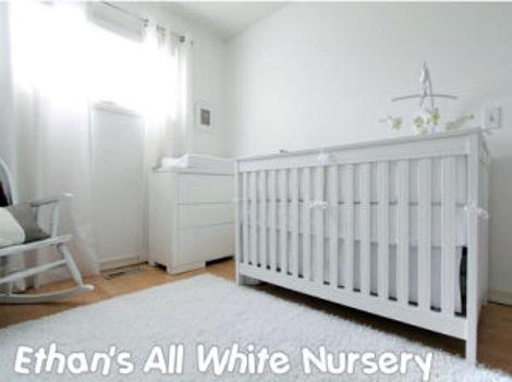 habitacion bebe blanca total