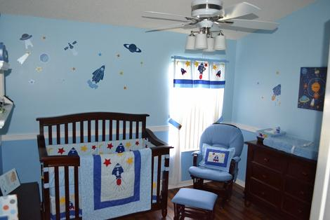 Habitación de bebe inspiración espacio