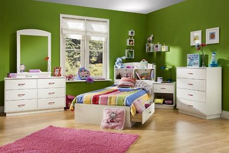 Habitación chica verde