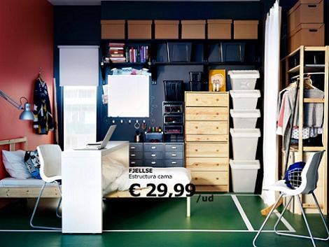Habitación chico Ikea