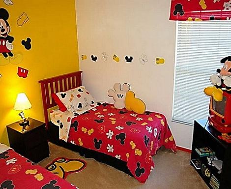 Habitaciones disney para ni os for Habitaciones infantiles disney