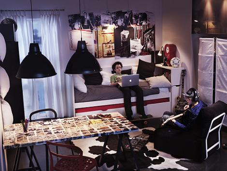Ikea dormitorio juvenil - Habitaciones pequenas ikea ...