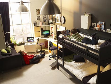 Habitaciones juveniles de ikea for Ikea camas juveniles