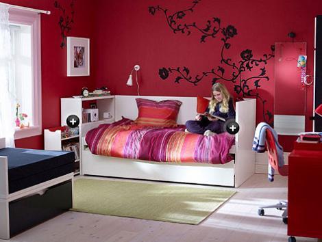 Ikea dormitorios estudio: habitaciones de ikea para niñas room for ...