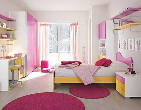 habitaciones juveniles de chica