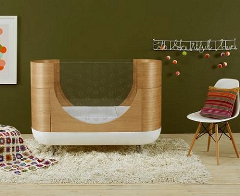 imagenes habitaciones bebe modernas madera