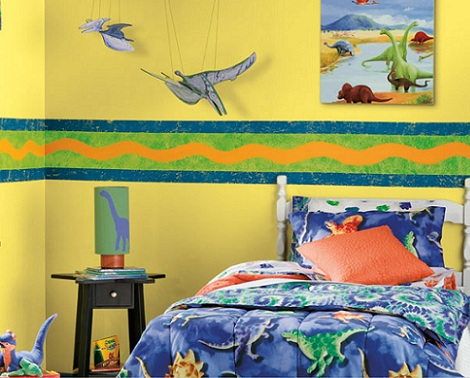 inspiracion habitacioninfantil dinosaurios
