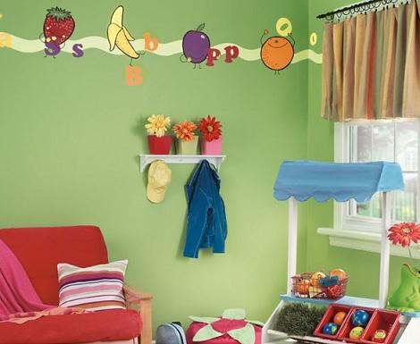 inspiracion habitacioninfantil fruta