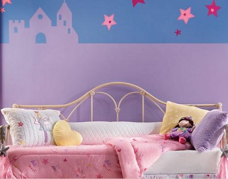 inspiracion habitacion infantile princesa