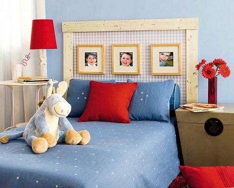 Cabecero cama infantil