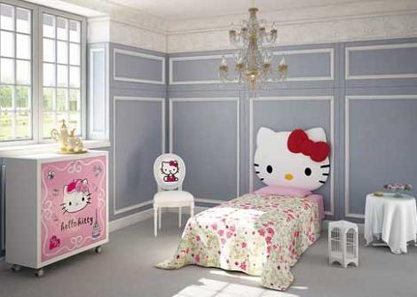Cabecero de Hello Kitty