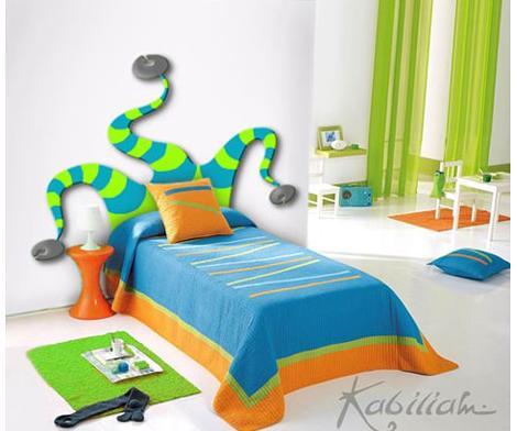 Cabeceros para camas infantiles - Cabeceros infantiles tapizados ...