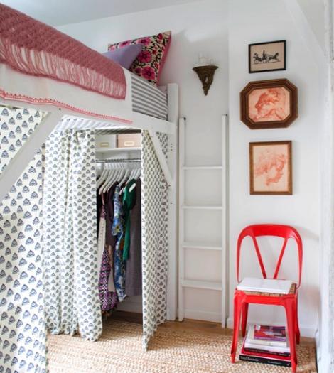 M s fotos de dormitorios juveniles for Dormitorio juvenil cama alta