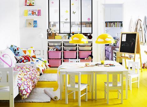 Habitaciones infantiles ikea novedades 2013 - Ikea cabecero infantil ...