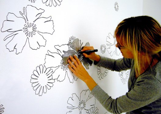 Dibujos en la pared for Imagenes para decorar paredes