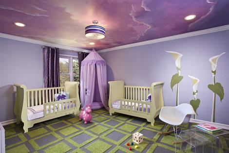 Dormitorio bebé moderno