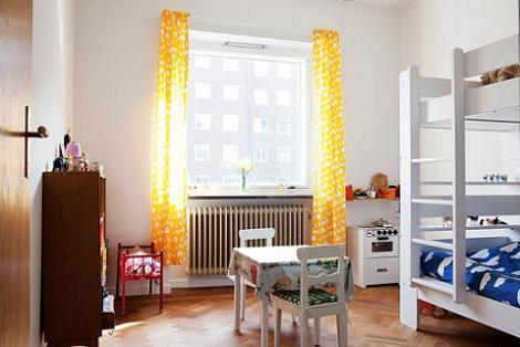 Habitaciones infantiles de estilo n rdico for Dormitorio infantil nordico