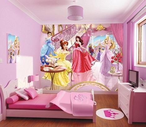 fotomurales infantiles princesas