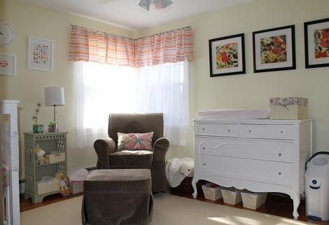 Habitación bebé clásica